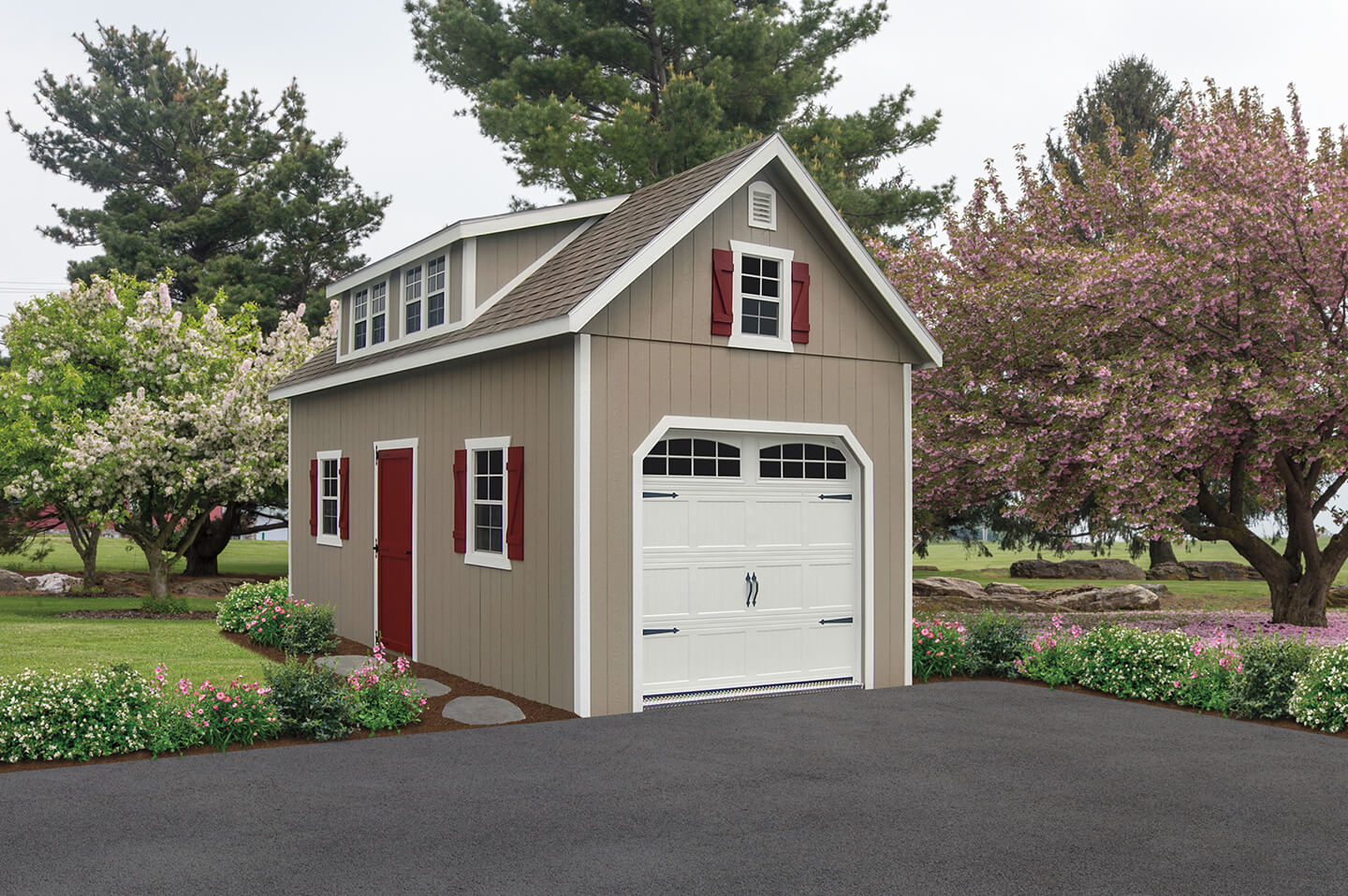 Craft sheds home design inspirations for Two story garages for sale