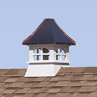 Copper Top Cupola
