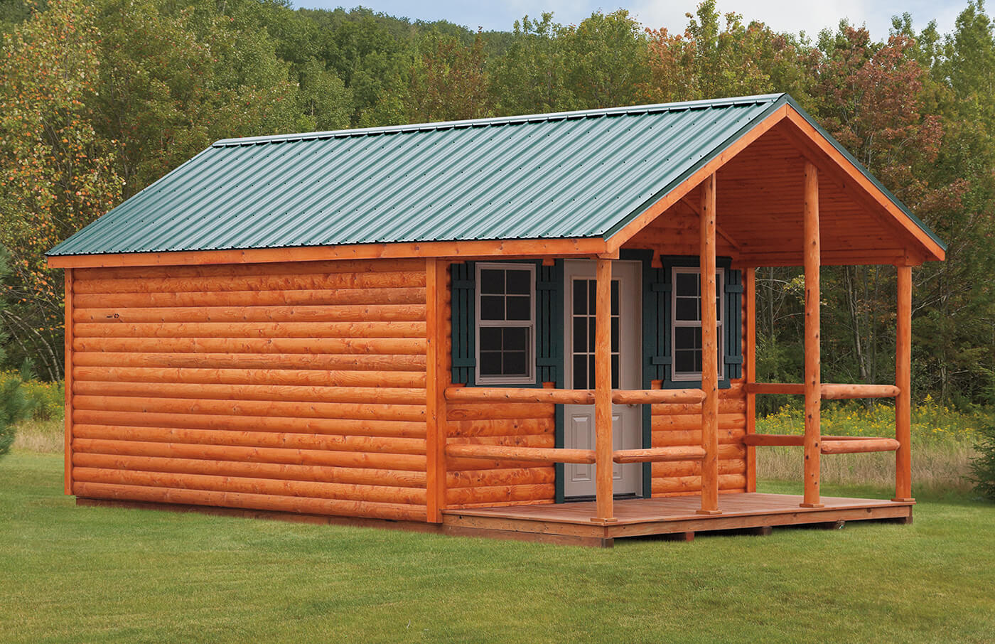 Cabins cedar craft storage solutions for Cabin styles