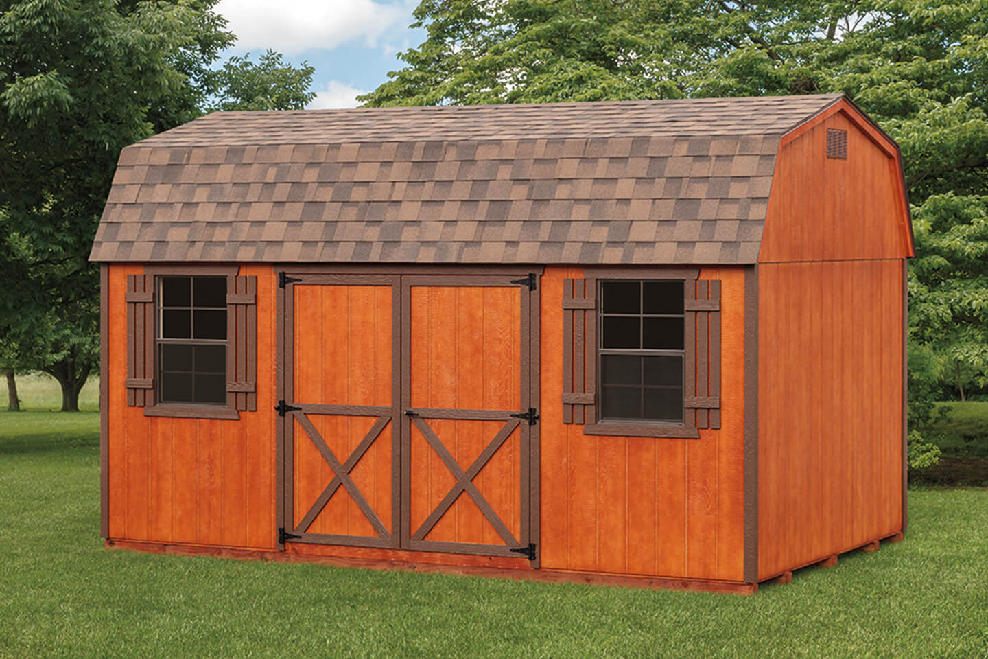 Dutch Barn Sheds Cedar Craft Storage Solutions