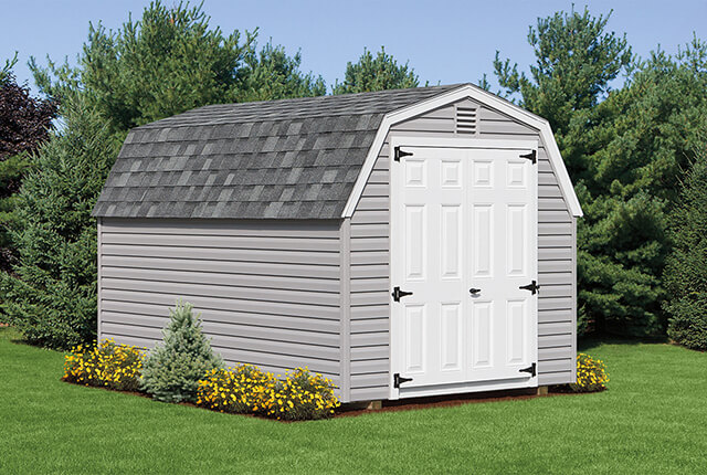 Mini Barn & Hip Roof Sheds | Cedar Craft Storage Solutions