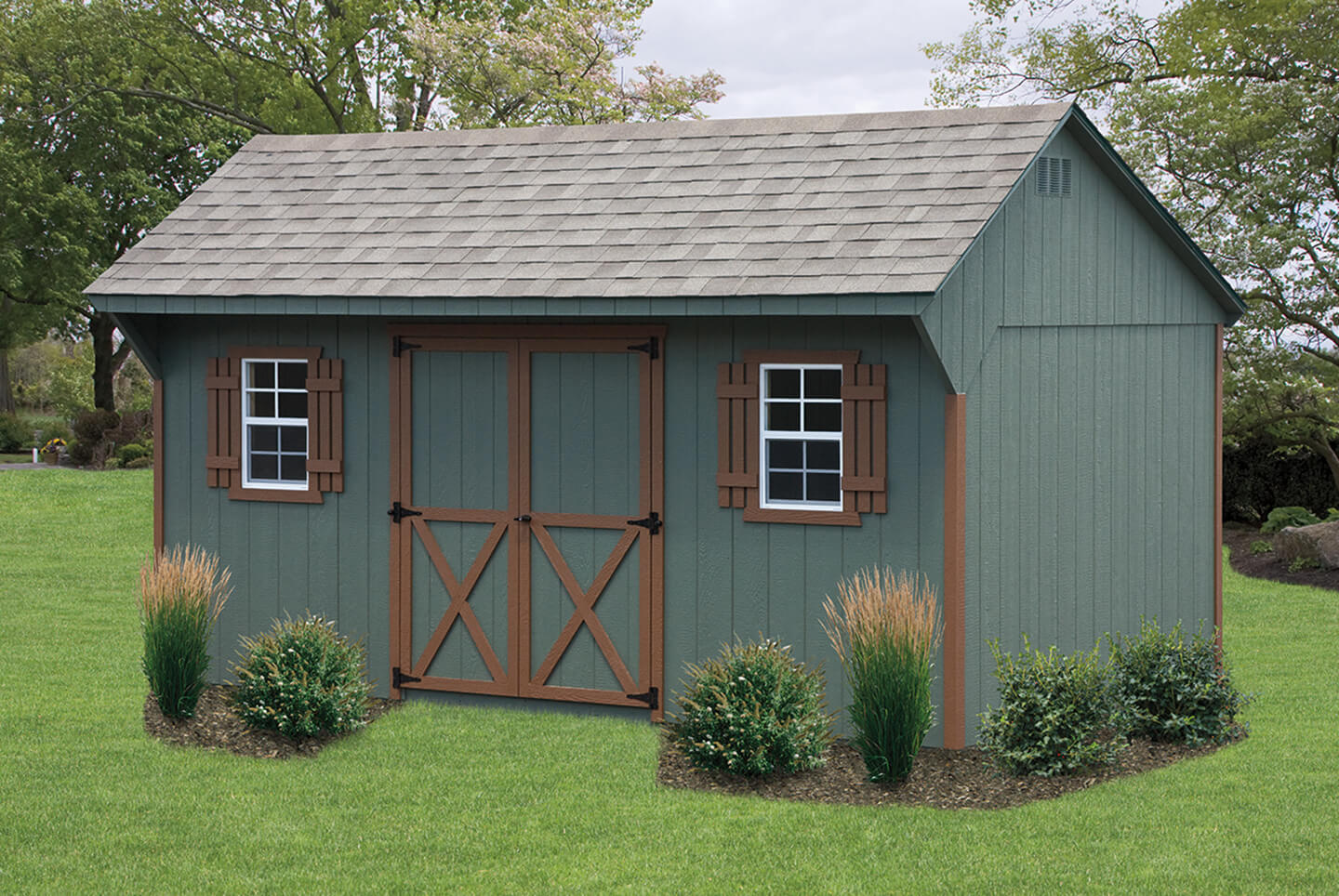 Quaker Shed Cedar Craft Storage Solutions