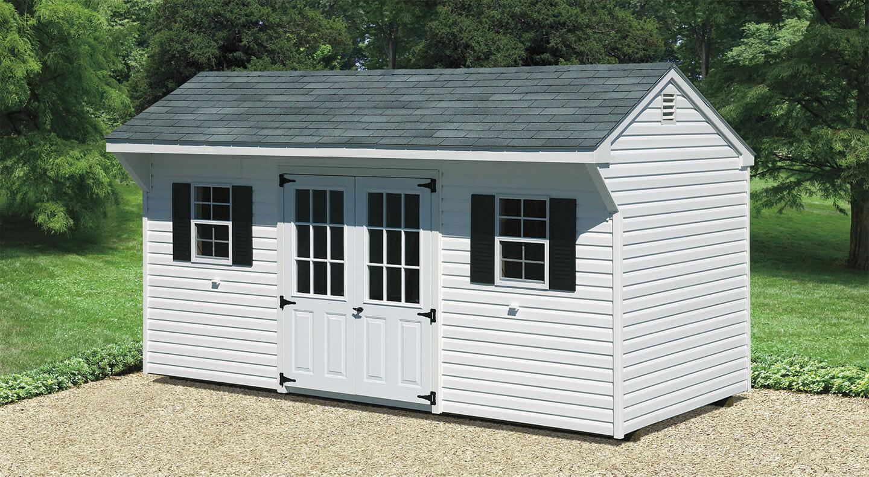8x14 Metal Carport : Quaker shed cedar craft storage solutions